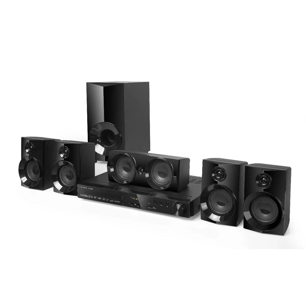 Noblex Home Theatre HT-2150 5.1 c/DVD y Bluetooth