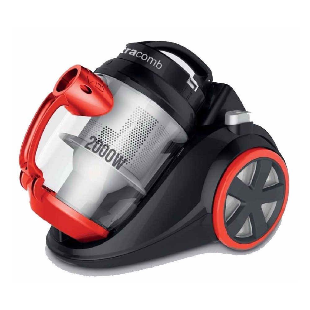 Ultracomb Aspiradora AS4228 2000W sin bolsa HEPA