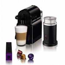 Nespresso Cafetera Caps INISSIA Black + Aero