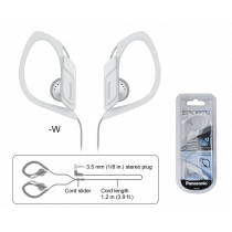Panasonic Auriculares Sports Blanco RP-HS34PPW