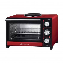 Ultracomb Horno Electrico 28Lts UC28A C/GRILL y ANAFE 1H (H