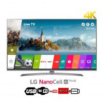"""LG 75"""" LED UHD-4K Smart TV  75UJ6580 con NanoCell para colores más puros"""