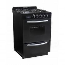 Domec Cocina 56 cm CNUPV Negra