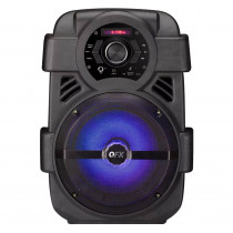 "QFX Sistema Audio Portable Radio FM 8"""
