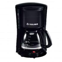 Yelmo Cafetera 12 tazas 800w ca-7108 Negra