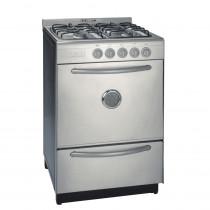 Domec Cocina Gastronomica a Gas CXGP-61811 56 cm Acero Inoxidable