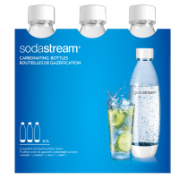 Sodastream Botella TRIPACK WHITE FUSE 1Lt