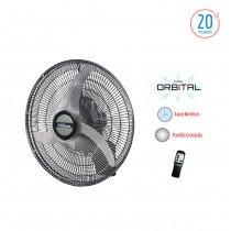 "Liliana Ventilador de Pared Orbital 20"" VWC2016"