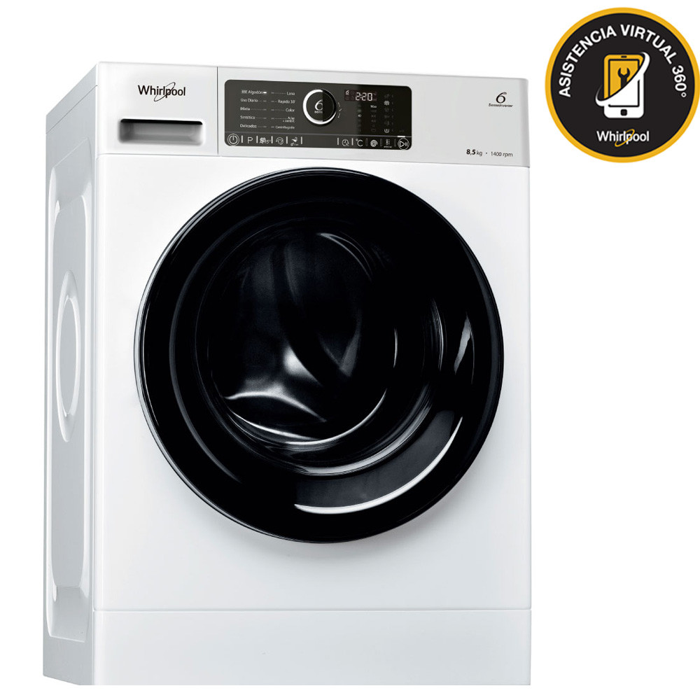 Whirlpool Lavarropas 8,5 Kg 1400 Rpm WLCF85B