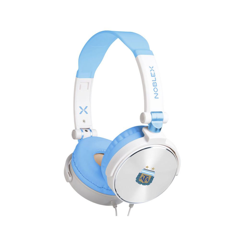Noblex Auricular Manos libres Plegable HP107WS Afa Blanco