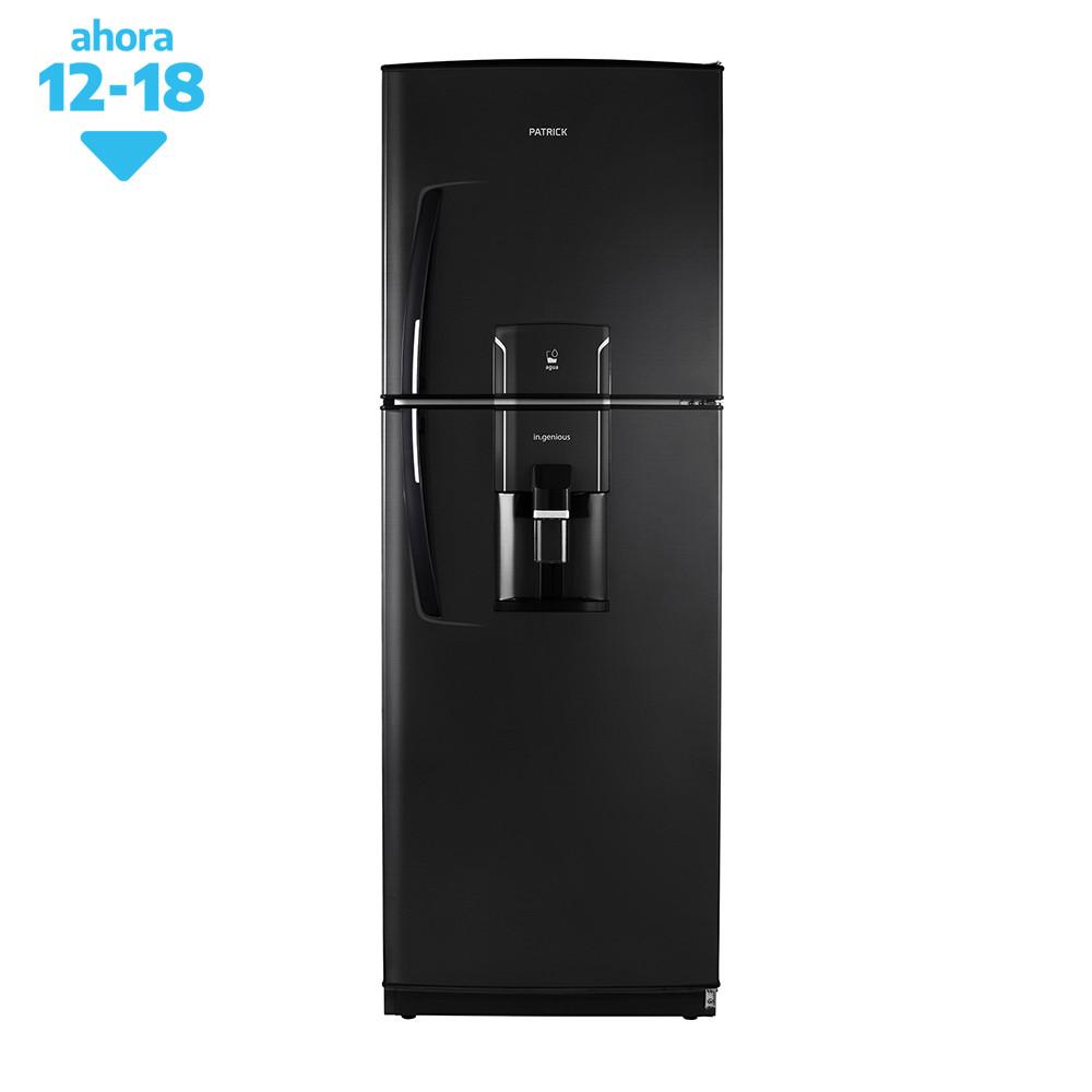 Patrick Heladera C/Freezer 388 Ltrs. HPK151M11N01 Negra