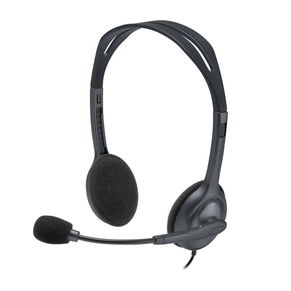 Logitech Auricular Manos Libres H111/0612 C/Mic Negro