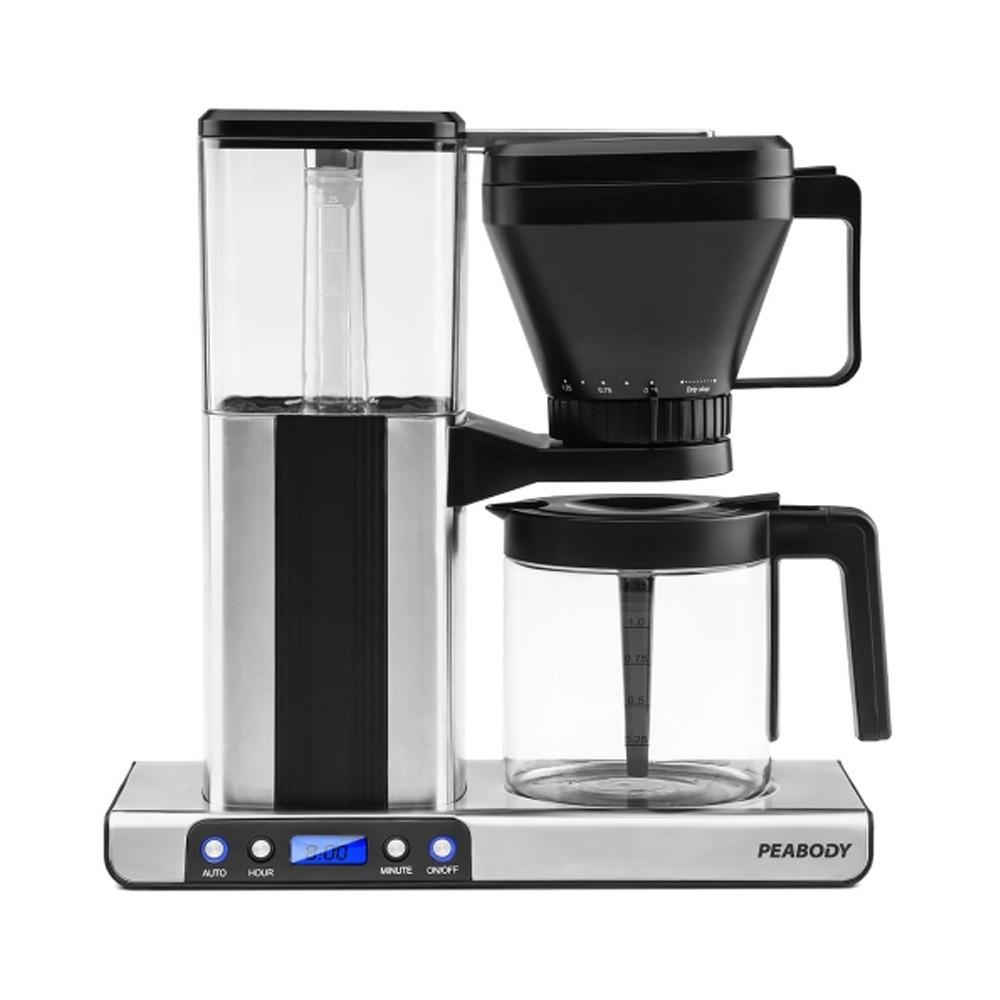 Peabody Cafetera de Filtro 1,25 Lts PE-MK01 Digital Mocca
