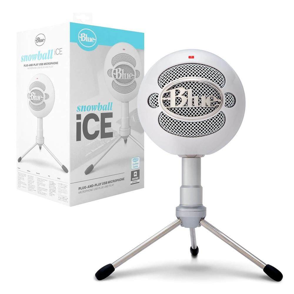 Logitech Micrófono Blue Snowball iCE070 Blanco
