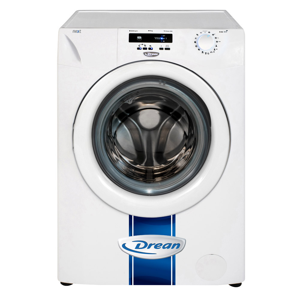 Drean Lavarropas NEXT 6.06 Eco 6 Kg 600Rpm Blanco