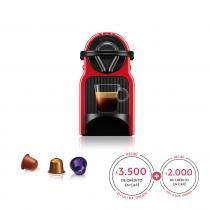 Nespresso Cafetera Caps INISSIA Red