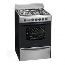 Longvie Cocina 4H 60cm 13601X/XF Gas Inox.