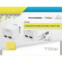 Tagwood Cargador de Pared