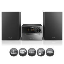Philips Microsistema de Audio HiFI BTM2310 Negro