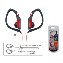 Panasonic Auriculares Sports Rojo RP-HS34PPR