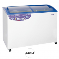 Inelro Freezer Horiz. 330Lt - FIH350PI T/Vidrio Blanco