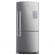 Whirlpool Heladera NF C/Freezer No Frost WRE80K2 Combi - Inox