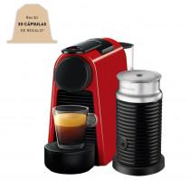 Nespresso Cafetera ESSENZA Mini Red+ AERO A3ND30-AR-RE