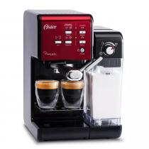 Oster Cafetera BVSTEM6701-054 PrimaLatte EXPRESS 19 Bar Roja - Negra