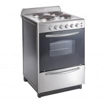 Domec Cocina Electrica CEXG-51043 56 cm Acero Inox.