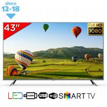 "Zenith Smart TV LED 43"" FHD"