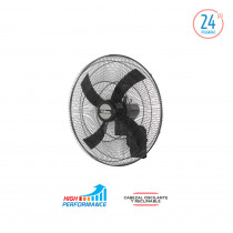 "Liliana Ventilador de Pared 24"" VW2416 Negro"