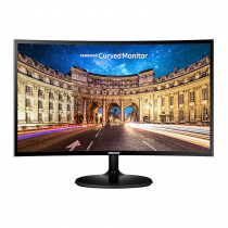 """Samsung Monitor Curvo Esencial 27"""" HDMI LC27F390FHLX Negro"""