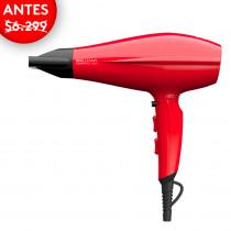 GAMA Secador de cabello Brilliant Ceramic Ion 2300W Rojo