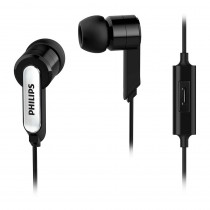 Philips Auricular Intrauditivo con micrófono SHE1405BK/10 Negro