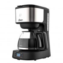 Oster Cafetera Eléctrica de filtro 8 Tazas BVSTDC10SS  Negra/Inox