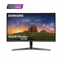 "Samsung Monitor 31.5"" Curvo LC32JG50QQLX Gamer WQHD HDMI"