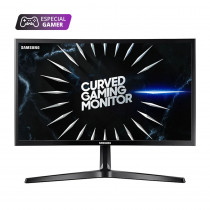 """Samsung Monitor 24"""" Curvo LC24RG50FQLX Gamer FH"""