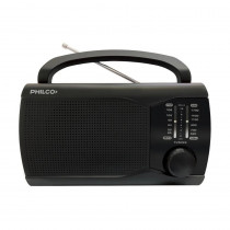 Philco Radio Portátil PRM60 AM/FM Negro