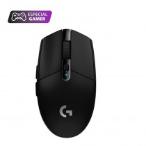 Logitech Mouse inalámbrico G305/5281 Gamer LIGHTSPEED Negro