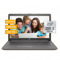 "HP Notebook 15"" 250-G7-CI3 Intel Core i3 4GB/1TB Gris"