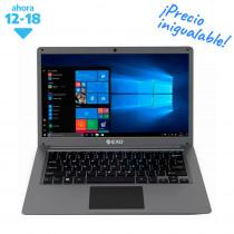 """EXO Notebook 14"""" Smart E25 Plus 4/500GB W10 Gris"""