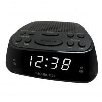 Noblex Radio Reloj RJ960 AM/FM Negro