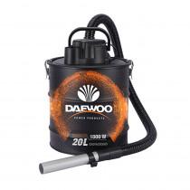 Daewoo Aspiradora de Cenizas DAC-20L 1000W Negra