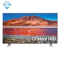 """Samsung Smart TV 50"""" Crystal 4K UHD UN50TU7000GCZB Negro"""