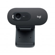 Logitech Cámara Web HD C505/1363 Negra
