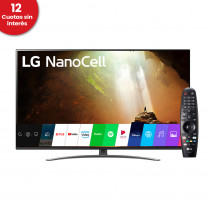 "LG Smart TV 55"" 4K UHD NanoCell 55NANO81 ThinQ AI"