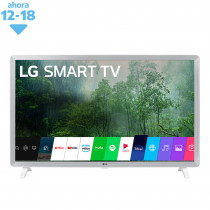 "LG Smart TV 32"" LED HD 32LM620 Blanco con Gris"