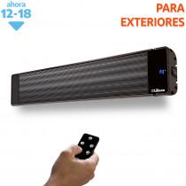 Liliana calefactor de Aluminio Techo/Pared CPA2400 Negro