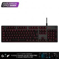 Logitech Teclado Gamer G413/8300 Carbon