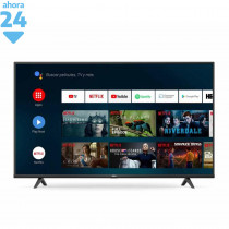 """RCA Smart TV 55"""" Android 4K UHD AND55FXUHD-F Negro"""